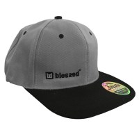 blessed_Snap_Back_Cap_Grey-Black_3